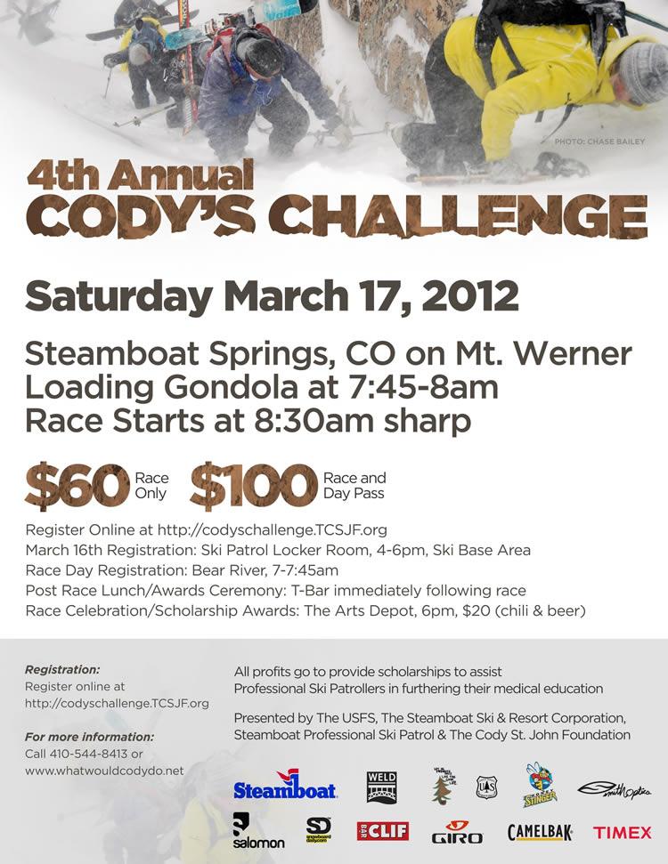 Codys Challenge 2012 - March 17, 2012